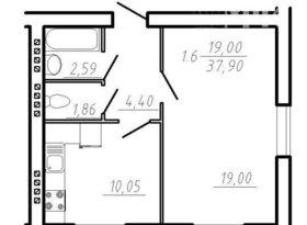 Продажа 1-комнатной квартиры, Вологодская обл., поселок Непотягово, 3, фото №1