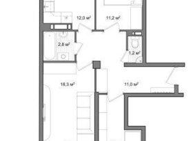 Продажа 3-комнатной квартиры, Вологодская обл., Вологда, улица Чернышевского, 120А, фото №7
