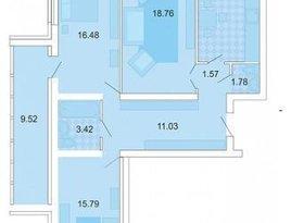 Продажа 3-комнатной квартиры, Пензенская обл., Пенза, улица Мира, 1, фото №1
