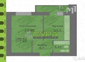 Продажа 1-комнатной квартиры, Пензенская обл., Пенза, улица Генерала Глазунова, 2, фото №7
