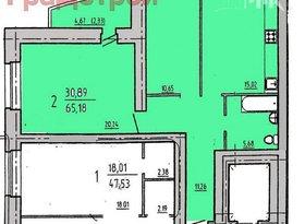 Продажа 2-комнатной квартиры, Вологодская обл., Вологда, Северная улица, 10Б, фото №1