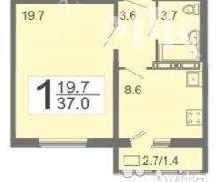 Продажа 1-комнатной квартиры, Пензенская обл., село Засечное, фото №1