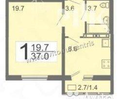 Продажа 1-комнатной квартиры, Пензенская обл., село Засечное, фото №3