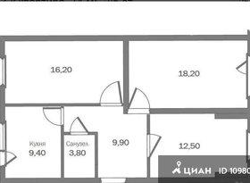 Аренда 3-комнатной квартиры, Севастополь, Средний проезд, 2, фото №1