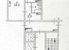 Продажа 1-комнатной квартиры, Новосибирская обл., Новосибирск, улица Петухова, 156, фото №2