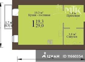 Продажа квартиры в свободной планировке , Пензенская обл., Пенза, Ладожская улица, 112Б, фото №1