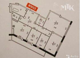 Продажа 4-комнатной квартиры, Белгородская обл., Академическая улица, 23А, фото №1