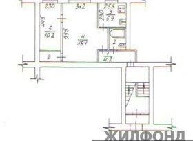 Продажа 2-комнатной квартиры, Новосибирская обл., Новосибирск, улица Римского-Корсакова, 26, фото №3