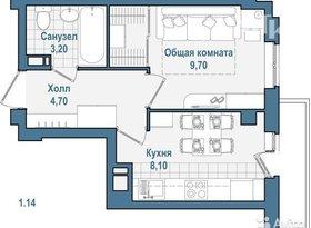 Продажа 1-комнатной квартиры, Вологодская обл., Вологда, улица Космонавта Беляева, 21А, фото №6