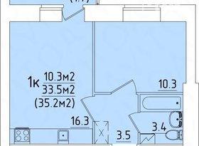 Продажа 1-комнатной квартиры, Вологодская обл., Вологда, улица Возрождения, 82, фото №3