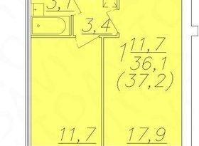 Продажа 1-комнатной квартиры, Вологодская обл., Вологда, улица Возрождения, 47, фото №3