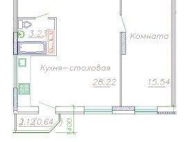 Продажа 2-комнатной квартиры, Вологодская обл., Череповец, Городецкая улица, 18, фото №2