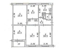 Продажа 5-комнатной квартиры, Новосибирская обл., Новосибирск, Кубовая улица, 106, фото №1