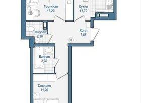 Продажа 2-комнатной квартиры, Вологодская обл., Вологда, улица Космонавта Беляева, 21А, фото №7