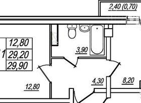 Продажа 1-комнатной квартиры, Вологодская обл., Вологда, улица Космонавта Беляева, 21А, фото №5