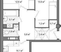 Продажа 2-комнатной квартиры, Вологодская обл., Вологда, улица Чернышевского, 120А, фото №1