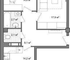 Продажа 2-комнатной квартиры, Вологодская обл., Вологда, улица Чернышевского, 120А, фото №3
