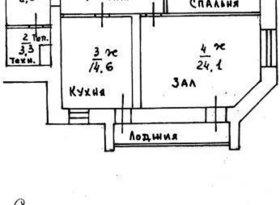 Продажа 2-комнатной квартиры, Смоленская обл., Смоленск, улица Кирова, 32А, фото №1
