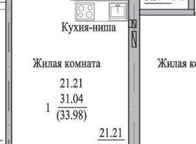 Продажа 1-комнатной квартиры, Вологодская обл., Череповец, Октябрьский проспект, 78, фото №1