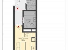 Продажа 2-комнатной квартиры, Москва, посёлок совхоза Крёкшино, 1, фото №1