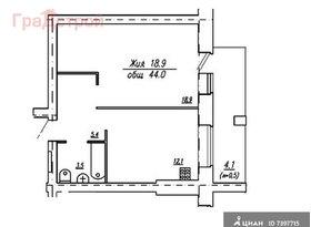 Продажа 1-комнатной квартиры, Вологодская обл., Вологда, Псковская улица, 11А, фото №1