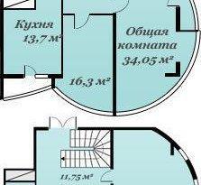 Продажа 4-комнатной квартиры, Севастополь, улица Ерошенко, 9, фото №3