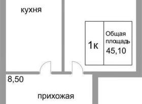 Продажа квартиры в свободной планировке , Тульская обл., улица Аркадия Шипунова, 2, фото №1