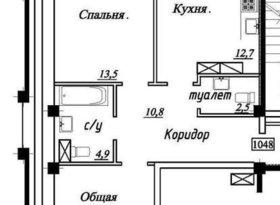 Продажа 2-комнатной квартиры, Ставропольский край, Ставрополь, Родосская улица, 13с3, фото №3