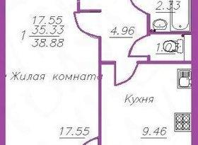 Продажа 1-комнатной квартиры, Вологодская обл., Череповец, улица Монтклер, 11А, фото №2