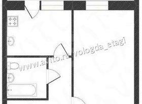 Продажа 1-комнатной квартиры, Вологодская обл., Вологда, Дальняя улица, 20В, фото №1