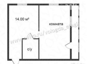 Продажа 1-комнатной квартиры, Вологодская обл., Вологда, улица Южакова, 3, фото №2
