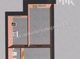 Продажа 1-комнатной квартиры, Вологодская обл., Вологда, Ленинградская улица, 150, фото №1