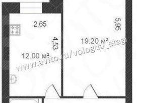 Продажа 1-комнатной квартиры, Вологодская обл., Вологда, Ленинградская улица, 150, фото №2