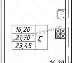 Продажа 1-комнатной квартиры, Вологодская обл., Вологда, улица Карла Маркса, 13/49, фото №4