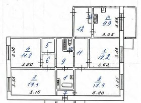 Продажа 4-комнатной квартиры, Саха /Якутия/ респ., Нерюнгри, фото №1