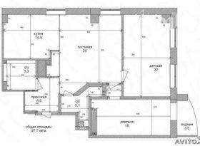 Продажа 3-комнатной квартиры, Новосибирская обл., Новосибирск, улица Семьи Шамшиных, 16, фото №1