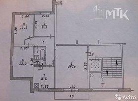 Продажа 4-комнатной квартиры, Новосибирская обл., Новосибирск, Гидромонтажная улица, 47, фото №1
