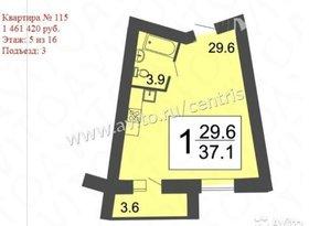 Продажа 1-комнатной квартиры, Пензенская обл., Светлая улица, фото №6