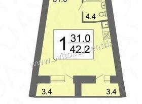 Продажа 1-комнатной квартиры, Пензенская обл., Светлая улица, фото №7