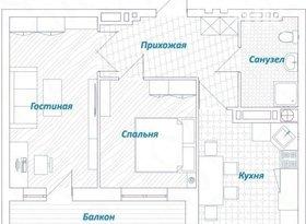 Продажа 2-комнатной квартиры, Астраханская обл., Астрахань, улица Водников, 16, фото №6