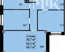 Продажа 3-комнатной квартиры, Удмуртская респ., Ижевск, Курортная улица, 2, фото №3