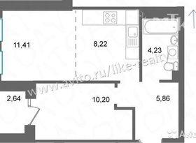 Продажа 2-комнатной квартиры, Удмуртская респ., Ижевск, улица Орджоникидзе, 28А, фото №2