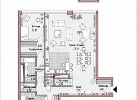 Продажа 2-комнатной квартиры, Москва, Новослободская улица, 24, фото №1